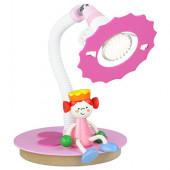 Prinzessin Höhe 35 cm rosa 1-flammig rund