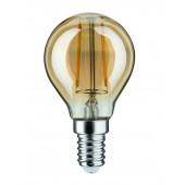 LED Tropfen, E14, 2,5W, 220lm, 2500K, gold