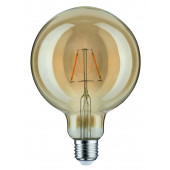 LED Vintage-Globe, E27, 2,5W, 170lm, 1700K, gold