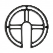 Wand-Distanzhalter Höhe 10,5 cm schwarz rund