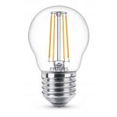 LED Kerze E27 Ø 4,5 cm weiß 4,3 W 470 lm