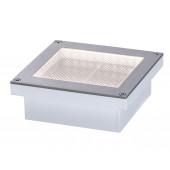 Aron 10 x 10 cm metallisch 1-flammig quadratisch