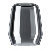 DecoSystems Vento Höhe 9,5 cm grau zylinderförmig