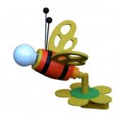 Hummel, E14, mit Schalter, bunt