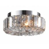 Ulriksdal Ø 22,5 cm metallisch 1-flammig rund