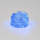 LED Lichterschlauch Länge 7,5 M metallisch 1-flammig rund
