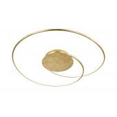 Opus Länge 70 cm gold 1-flammig rund