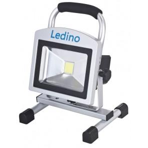LED-Akkustrahler Köpenick 209, 20 W, Sillber
