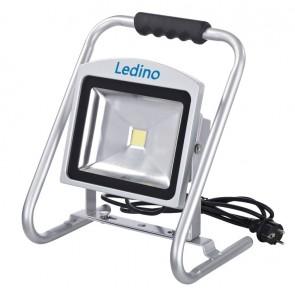 LED-Standstrahler Dahlem30SCB, 30W, 6500K, silb.