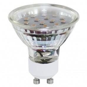 LM-GU10-SMD LED 3W 3000K 2ER-SET