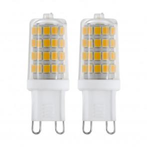 G9, LED, 3W, 3000K, 2 Stück
