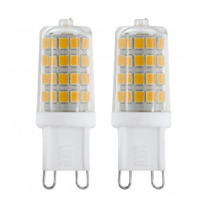 LED-Leuchtmittel 2er-Set G9 3 W 360 lm 4000 K