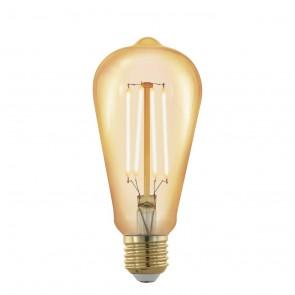 LM-E27-LED ST64 4W AMBER 1700K
