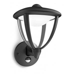Robin IR, LED, mit Bewegungsmelder, schwarz