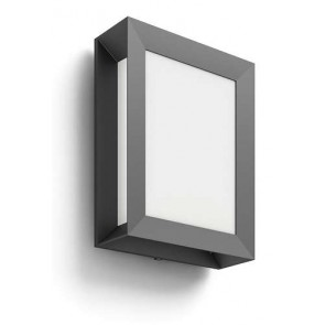 Karp, LED, IP44, anthrazit