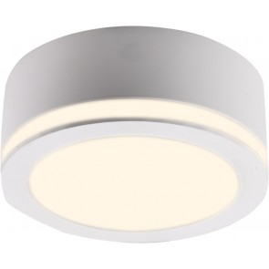 LED Aufbaustrahler, Seitlicher Lichtkranz, Weiß