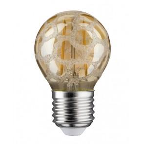 LED Tropfen 2,5W E27 230V Krokoeis Gold 2500K