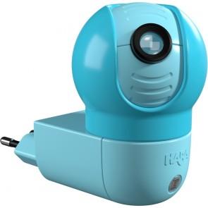 LED-Steckdosenlicht 1 Mondkatzen Motiv, 1W, Sensor, drehbar