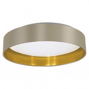 Maserlo, LED, Ø 40,5 cm, taupe-gold