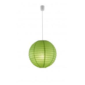 Paper Ø 40 cm grün 1-flammig kugelförmig