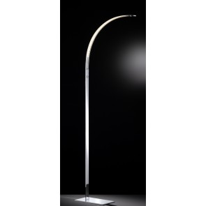 Luz, Höhe 165 cm, 3-Stufen-Dimmer, inkl LED, Chrom