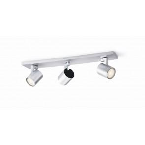Runner LED, 3-flammig, aluminium