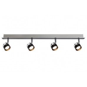 Stage, LED, 4-flammig, schwarz