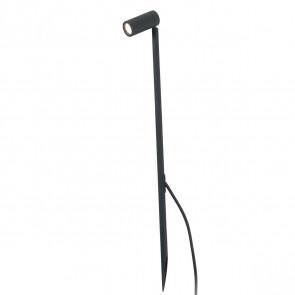 Seth-60 Spike Höhe 60 cm schwarz 1-flammig zylinderförmig