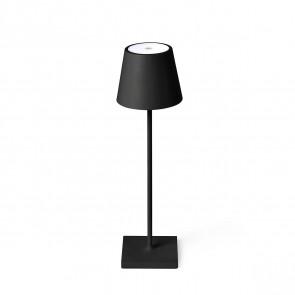 Toc, LED, IP54, mit Touchschalter, schwarz