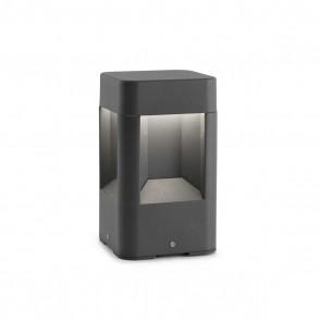 Naya LED, Höhe 20,5 cm, 8W, IP54, anthrazit