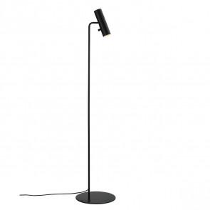 Mib 6, GU10, IP20, Höhe 141 cm, schwarz