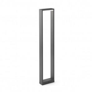 Alp Bollard Dark Grey LED 8W 3000K H80