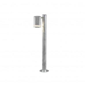 Modena Höhe 70 cm metallisch 1-flammig zylinderförmig