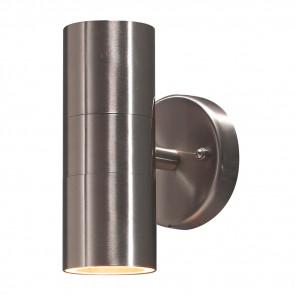 Modena Höhe 17cm metallisch 2-flammig zylinderförmig
