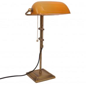 Ancilla Höhe 57 cm orange 1-flammig halbrund