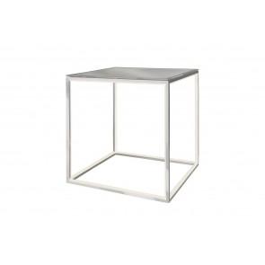 Delux, 42 x 42 cm, Glasplatte, metallisch