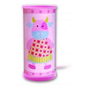 Berta Uni Höhe 21 cm pink 1-flammig zylinderförmig