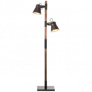 Plow Höhe 153,5 cm schwarz 2-flammig rund