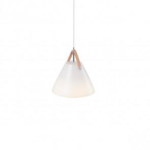 Strap 27, Ø 27 cm, weißer Glasschirm