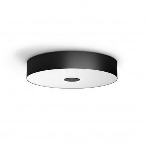White Amb. Fair Ø 44,4 cm schwarz 1-flammig rund