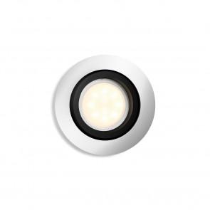 Milliskin Ø 9cm metallisch 1-flammig rund