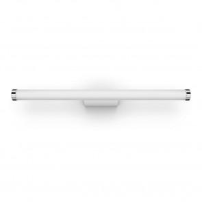 White Amb. Adore Länge 67,5 cm weiß 1-flammig zylinderförmig