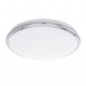 Manilva, LED, Ø 38,5 cm, chromfarben