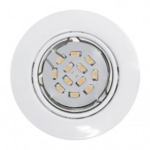 Peneto, Ø 8,7 cm, 3er-Set, inkl LED, weiß