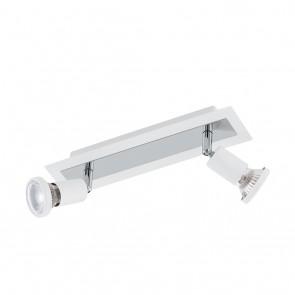 Sarria, 2-flammig, inkl LED, weiß