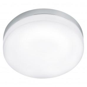 Lora, LED, IP54, Ø 42 cm, chrom