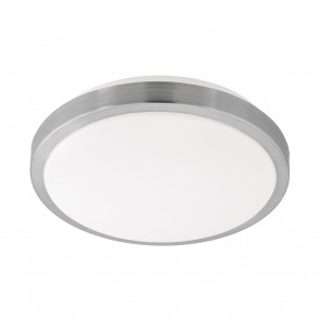 Competa 1, LED, Ø 32,5 cm, nickel-matt