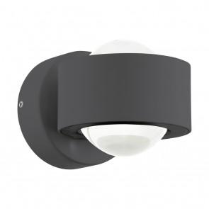 Ono 2, LED, Höhe 8 cm, anthrazit