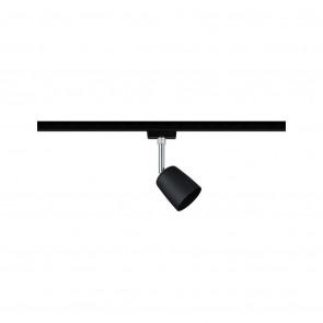 URail Spot Cover Höhe 14 cm schwarz 1-flammig rund