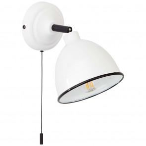 Telio Höhe 12,5 cm weiß 1-flammig rund